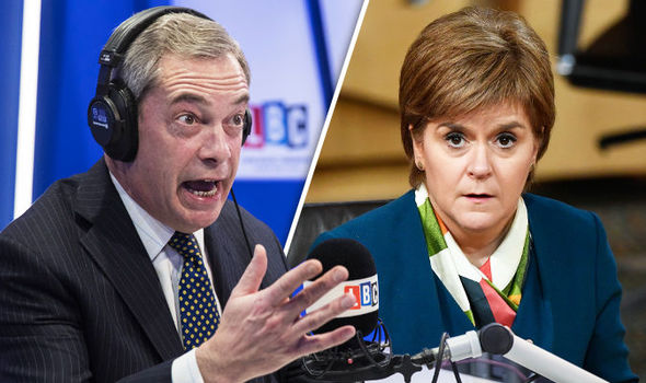 FEARLESS FARAGE has just DESTROYED Sturgeon and the SNP!