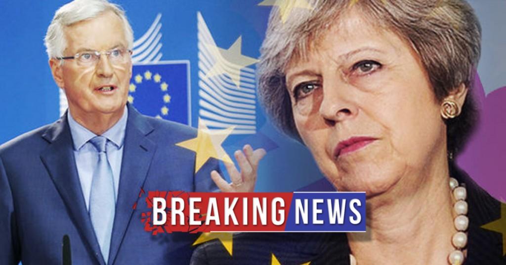 PANIC as Theresa May warns risk of NO BREXIT AT ALL!