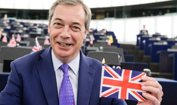 Farage warns PM Johnson he will 'take action' if the UK is not 'free' from the EU by December