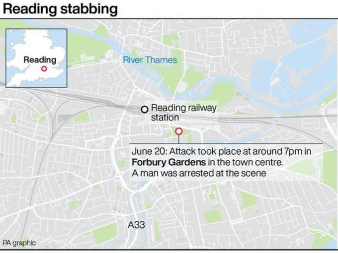 Reading Terror Incident: Libyan 'refugee' arrested after mass stabbing leaves three dead and three seriously injured
