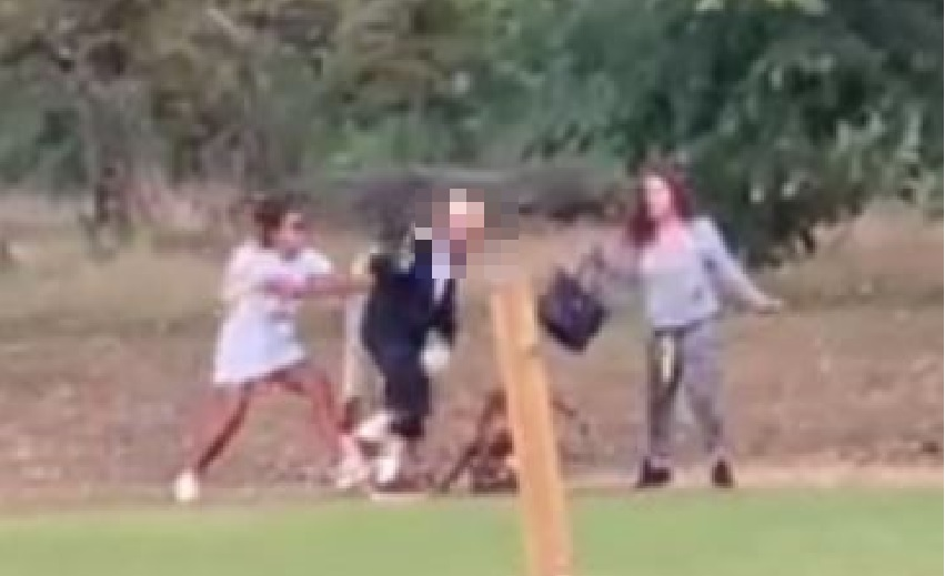 Police release image of two woman after elderly couple was attacked in 'racially-aggravated assault'