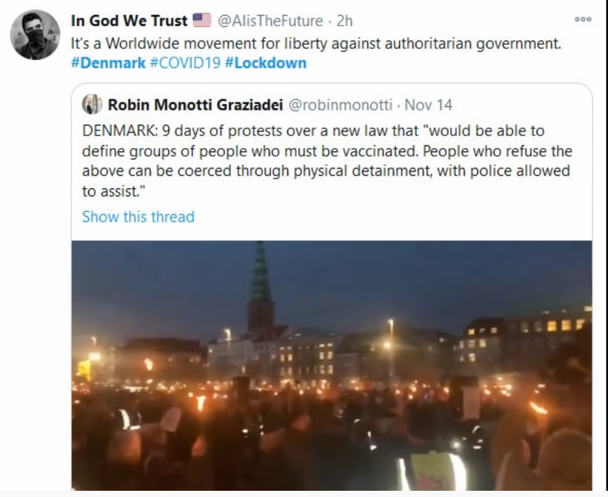 Danish People Say NO To Lockdown Law & Government Relent #PeoplePower